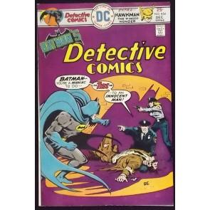 DETECTIVE COMICS #454 FN/VF BATMAN HAWKMAN