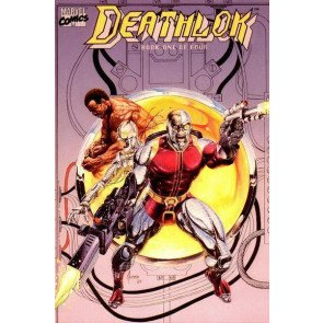 DEATHLOK 1990 #'s 1, 2, 3, 4 COMPLETE SET VF/ NM