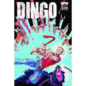 DINGO #3 OF 4 NM COVER A BOOM! STUDIOS