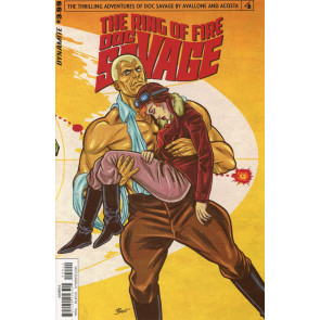 Doc Savage: The Ring of Fire (2017) #4 VF/NM Dynamite