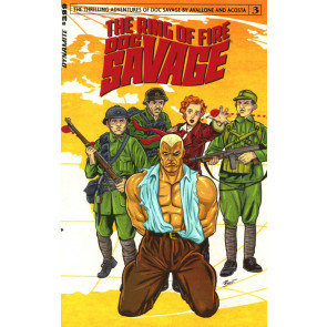Doc Savage: The Ring of Fire (2017) #3 VF/NM Dynamite