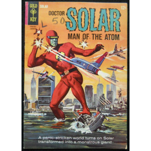 DOCTOR SOLAR #10 VG/FN 1965 GOLD KEY