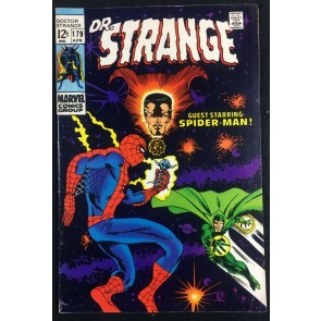 Doctor Strange (1968) #179 FN+ (6.5) Spider-Man cover and story