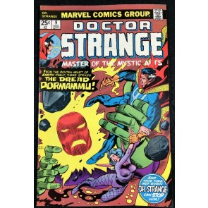 Doctor Strange (1974) #9 VF- (7.5) vs Dormammu
