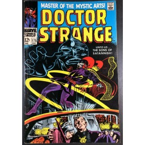 Doctor Strange (1968) #175 FN (6.0) versus Sons of Satannish