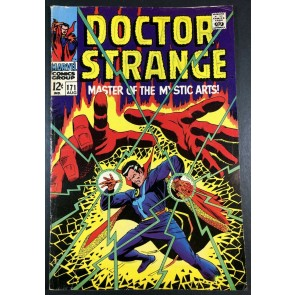 Doctor Strange (1968) #171 VG+ (4.5) vs Dormammu part 1 of 3