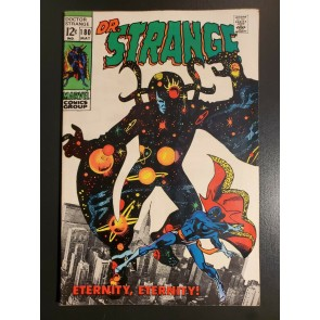 Doctor Strange #180 (1969) FN 6.0 Classic Eternity cover nice looking copy|