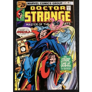 Doctor Strange (1974) #14 VF- (7.5) Dracula Cover by Gene Colan
