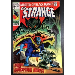Doctor Strange (1968) #183 FN- (5.5) Intro Undying Ones Last Issue