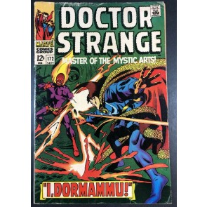 Doctor Strange (1968) #172 VG (4.0) versus Dormammu part 2 of 3