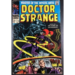 Doctor Strange (1968) #175 VG (4.0) versus Sons of Satannish