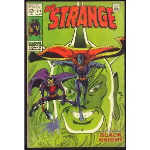 DOCTOR STRANGE (1968) #178 FN- BLACK KNIGHT