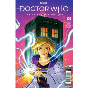 Doctor Who: The Thirteenth Doctor (2019) #9 VF/NM Veronica Fish Cover Titan
