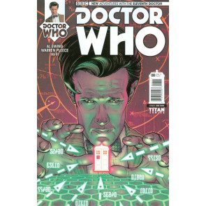DOCTOR WHO: THE ELEVENTH DOCTOR (2014) #8 VF/NM COVER A TITAN COMICS