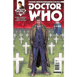 DOCTOR WHO: THE TENTH DOCTOR (2014) #9 VF/NM COVER A TITAN COMICS