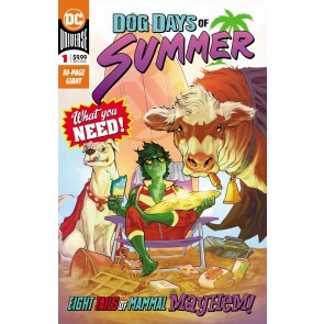 Dog of Summer (2019) #1 80 page giant Animal Man Beast Boy Cyborg DC Universe
