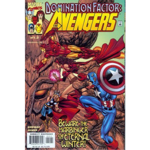DOMINATION FACTOR: AVENGERS #'s 1.2, 2.4, 3.6, 4.8, NM COMPLETE 4 PART SET