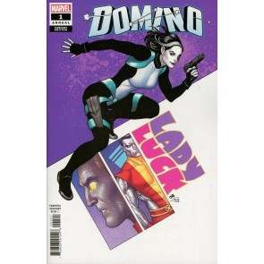 Domino Annual (2018) #1 VF/NM Frank Cho Variant Cover