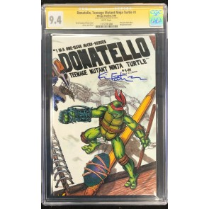 Donatello Teenage Mutant Ninja Turtles (1986) #1 CGC 9.4 Signed (1177781006)