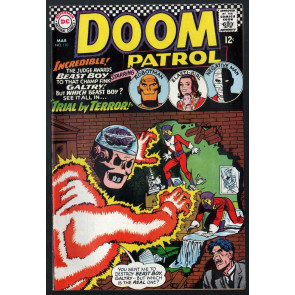 Doom Patrol (1964) #110 VF- (7.5)