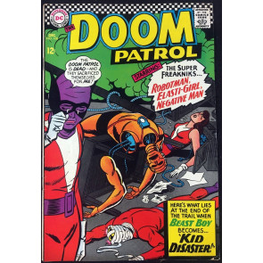 Doom Patrol (1964) #108 FN (6.0) Beast Boy cover (Changeling)
