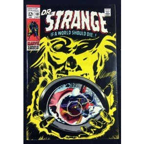 Doctor Strange (1968) #181 VF- (7.5) Nightmare Eternity Clea & Wong app