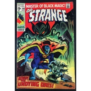 Doctor Strange (1968) #183 VG+ (4.5) 1st app Undying Ones last issue