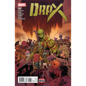 Drax (2016) #6 VF/NM CM Punk GOTG Scott Hepburn & Matt Milla Cover