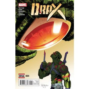 Drax (2016) #4 VF/NM CM Punk GOTG Scott Hepburn & Matt Milla Cover