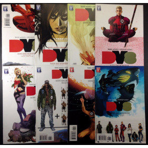 DV8(2010) 1 2 3 4 5 6 7 8 complete Gods & Monsters set Brian Wood Rebekah Iaascs