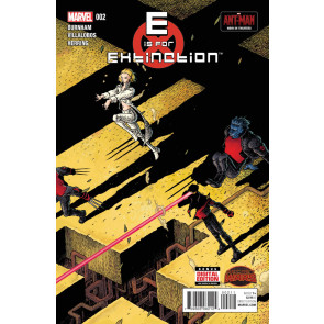 E IS FOR EXTINCTION (2015) #'s 1, 2, 3, 4 VF/NM SECRET WARS SET