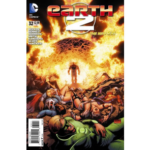 Earth 2 (2012) #32 VF/NM (9.0) Last Issue The New 52!