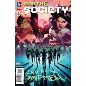 EARTH 2: SOCIETY (2015) #2 VF/NM