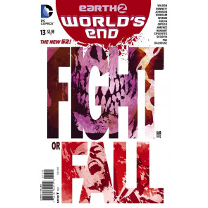 EARTH 2: WORLD'S END (2014) #13 VF/NM THE NEW 52!