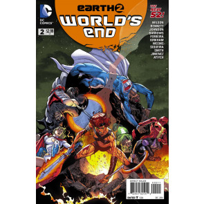 EARTH 2: WORLD'S END (2014) #2 VF/NM THE NEW 52!
