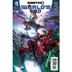 EARTH 2: WORLD'S END (2014) #20 VF/NM THE NEW 52!