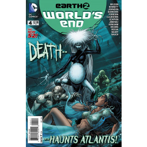 EARTH 2: WORLD'S END (2014) #4 VF/NM THE NEW 52!