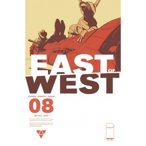 East of West (2013) #8 VF/NM Jonathan Hickman Image Comics