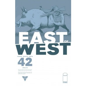 East of West (2013) #42 VF/NM Hickman Image Comics