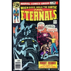 Eternals (1976) #1 FNVF (7.0) 1st app Eternals Jack Kirby story and art