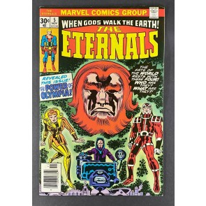 Eternals (1976) #5 VF/NM (9.0) 1st App Domo Makkari Thena Zuras Jack Kirby Art