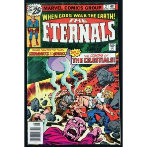 Eternals (1976) #2 FN (6.0) 1st appearance of Ajak & the Celestials Jack Kirby