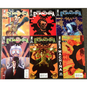 Ex-Machina (2004) #1-50 Complete Set lot of 55 Brian K Vaughan writer of Saga