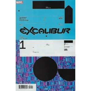 Excalibur (2019) #1 VF/NM Tom Muller 1:10 Design Variant Cover