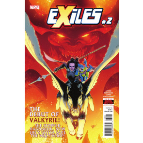 Exiles (2018) #2 VF/NM 1st Appearance New Valkyrie! 1st Printing!