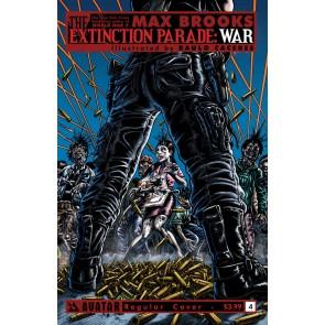 EXTINCTION PARADE: WAR (2014) #4 VF/NM REGULAR COVER AVATAR MAX BROOKS