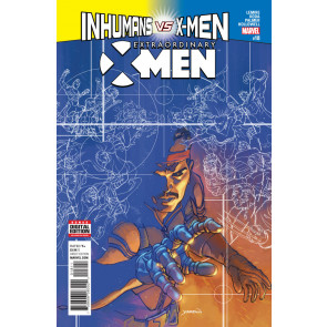 Extraordinary X-men (2015) #18 VF/NM Inhumans vs X-men Tie-In