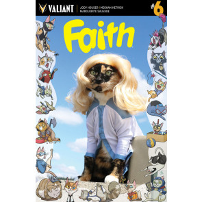 Faith (2016) #6 VF/NM Cat Cosplay Cover C Valiant