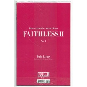 Faithless II (2020) #3 VF/NM Connecting Erotica Variant Cover Sealed Boom