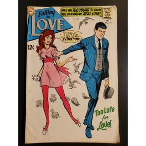 Falling In Love 102 (1968) VG 4.0 Silver Age Romance DC comics|